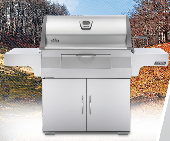 Napoleon Holzkohlegrill Pro 605 Css : Napoleon charcoal professional grill in stainless steel u bob s
