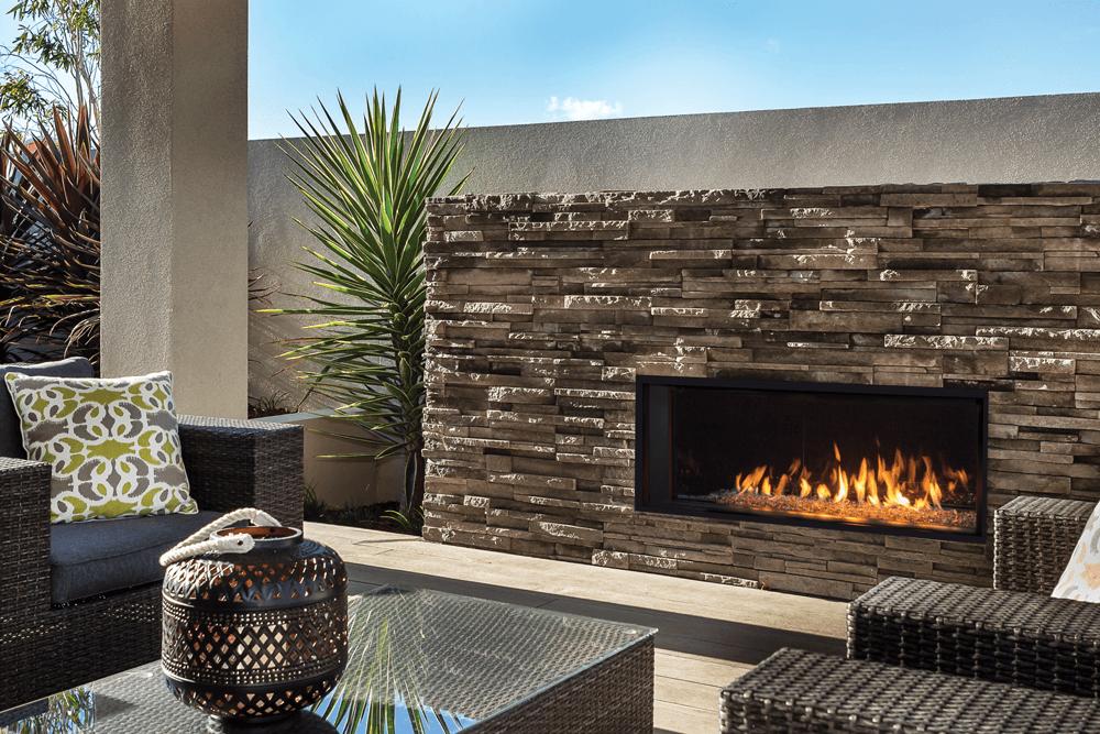 Valor L1 Linear Gas Fireplace Bob S Intelligent Heating Decor