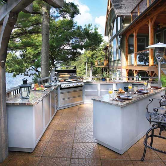 Prestige Kitchen Cabinets: NAPOLEON OASIS™ UNDER GRILL CABINET FOR BUILT-IN PRESTIGE