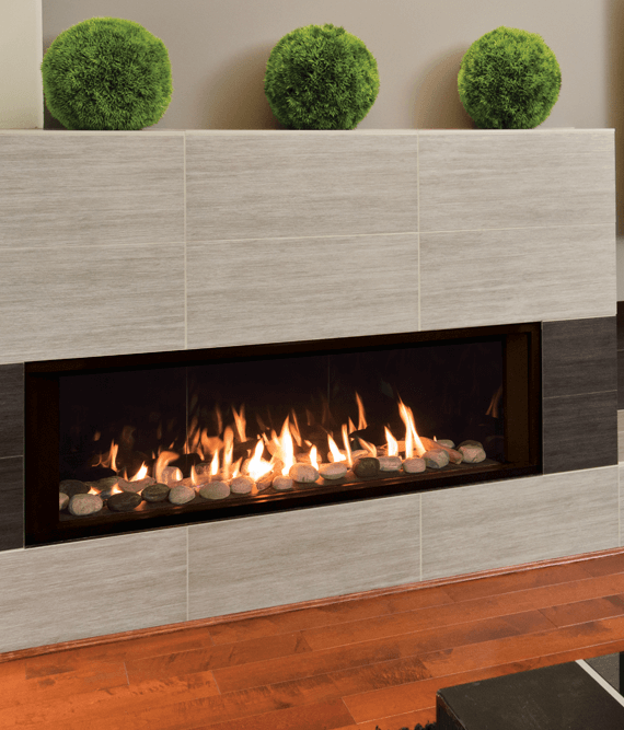 Linear Gas Fireplace >> Valor L2 Linear Gas Fireplace Bob S Intelligent Heating Decor